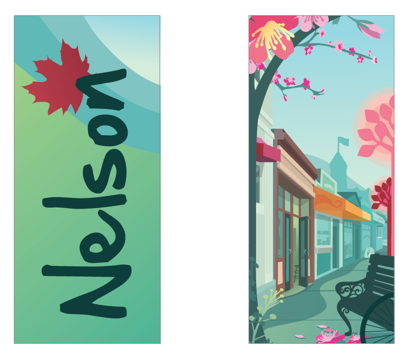 City of Nelson Banners