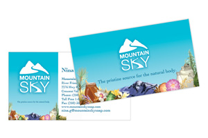 Mountain Sky Soap ~ Print