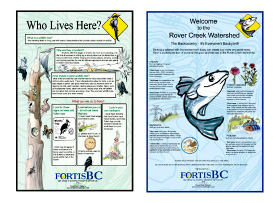 Rover Creek ~ Sign Design